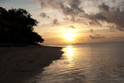 Wow beach Samoa