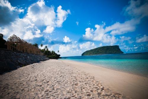 Beach Picture Samoa