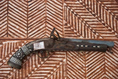 R. L. Stevenson Museum weapons 03
